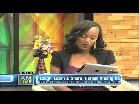Dr Kakenya Ntaiya speaks to Kenya's NTV